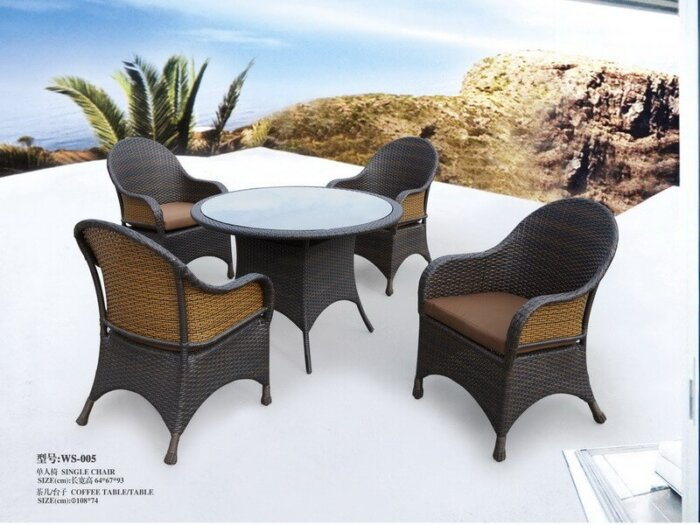 Cheap-5-Piece-Patio-Rattan-Dining-Set-For-4-person