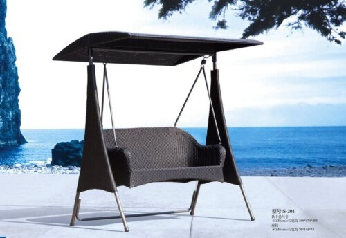 Cheap-Outdoor-Hanging-Bench-with-Canopy-and-Stand