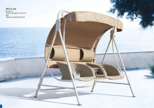 Comfortable-Mordern-Double-Swing-Chair-With-Small-Table