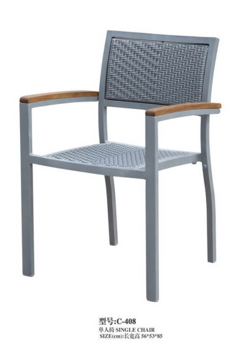All-Weather-Metal-Frame-Wicker-Arm-Chair-from-China-Supplier