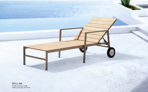 Beach-Wooden-Outdoor-Reclining-Chair-with-Ottoman