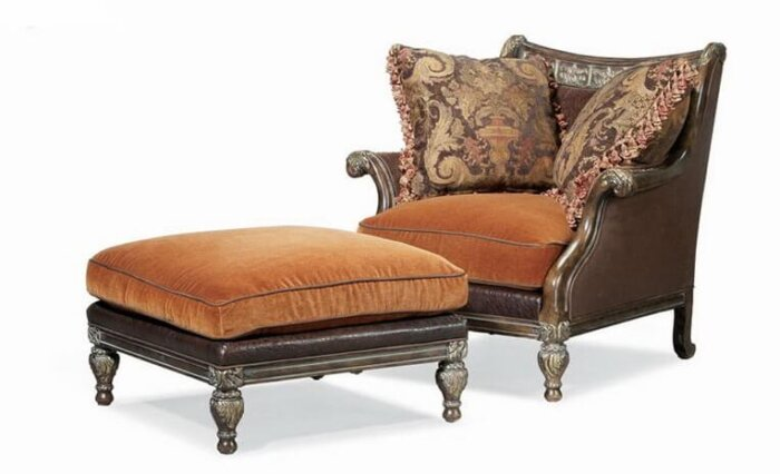 american_style_leather_lounge_chair_and_ottoman_upholstered_wood_frame_for_living_room_1