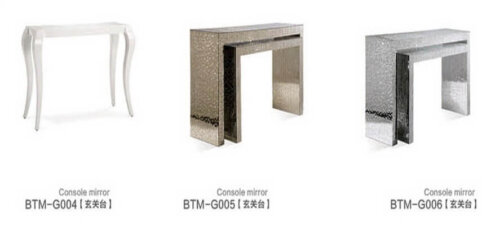 elegant_crystal_veneer_compact_glass_mirrored_console_table_for_hotel_lobby_bedroom_3