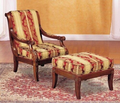 fashion_natural_timber_wood_rubber_armchair_with_ottoman_living_room_lounge_chair