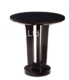 hotel_round_top_high_gloss_paint_side_coffee_table_with_ash_wood_1