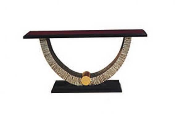 mahogany_high_gloss_veneer_wood_console_table_half_round_for_lobby_corner_table_2