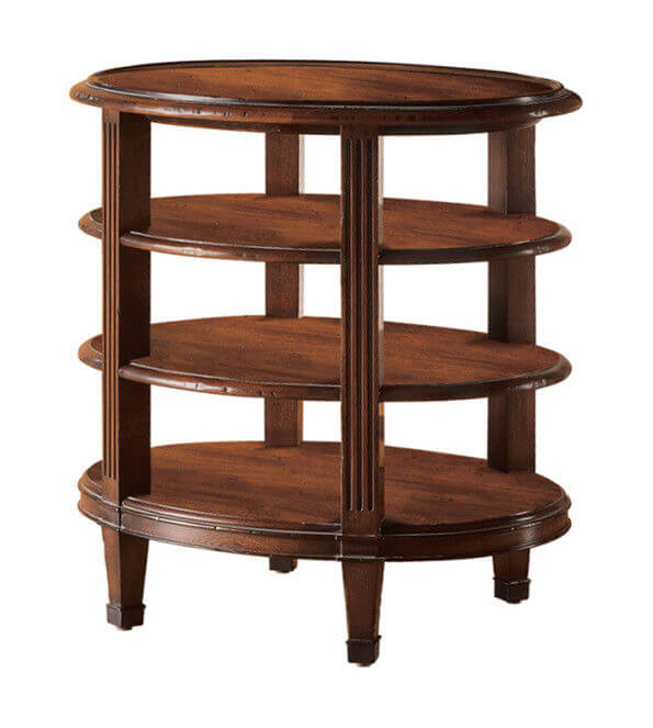 modern_rubber_wood_square_round_coffee_table_three_tiered_oem_odm_1
