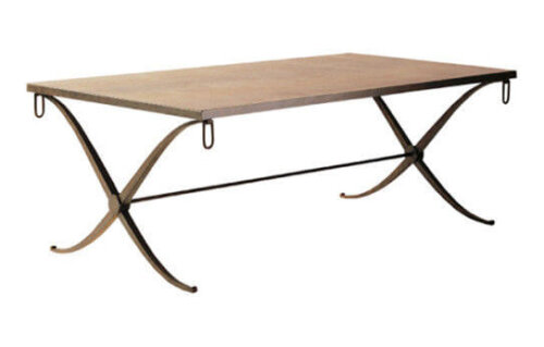 nordic_style_fashion_metal_leg_hotel_coffee_table_solid_wood_top_2