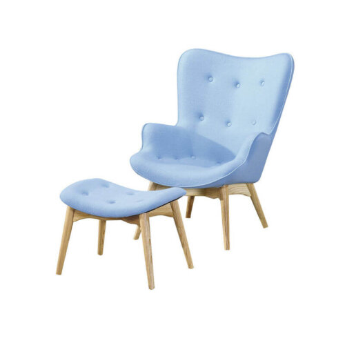 nordic_style_fashion_wooden_lounge_leisure_chair_ottoman_upholstered_cushion_1