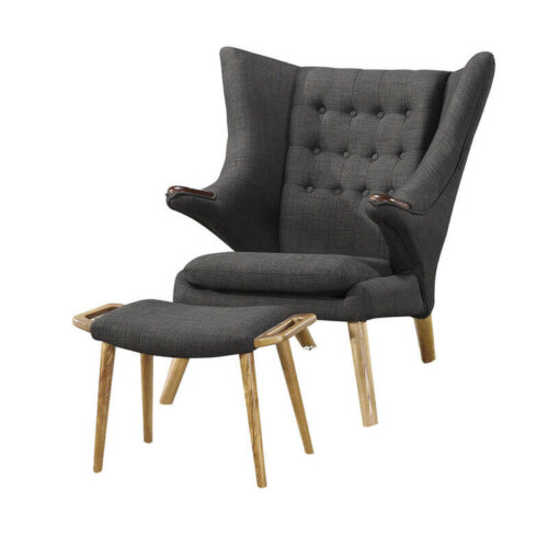 nordic_style_fashion_wooden_lounge_leisure_chair_ottoman_upholstered_cushion_2