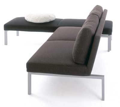 nordic_style_solid_wood_backrest_hotel_room_sofa_upholstered_stainless_steel_frame_2