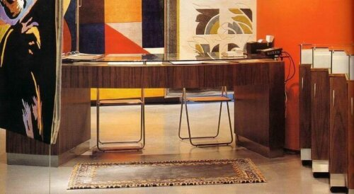 5_star_hotel_lobby_solid_wood_console_table_walnut_veneer_reception_table_3
