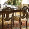 cherry_veneer_restaurant_table_and_chair_sets_with_cushion_walnut_veneer_2