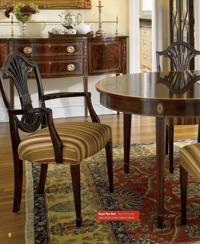 cherry_veneer_restaurant_table_and_chair_sets_with_cushion_walnut_veneer_3