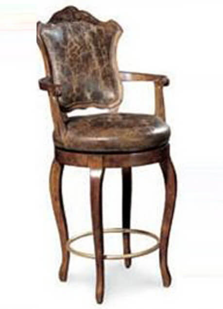 classic_espresso_counter_height_hotel_bar_stools_with_back_pu_leather