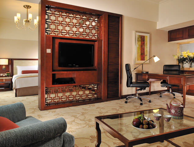 dark_walnut_high_end_bedroom_furniture_customized_with_fabric_chaise_chair_ottoman_4
