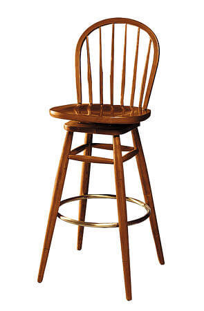 elegant_french_style_wooden_bar_stools_chair_with_round_back_upholstery_fabric
