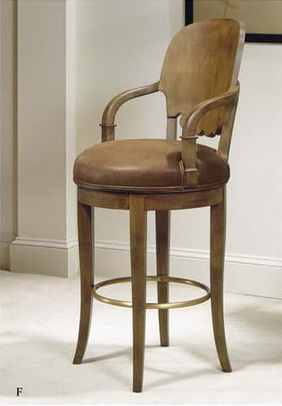 urban_dark_brown_commercial_leather_bar_stools_with_round_cushion